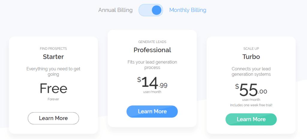 DuxSoup Pricing